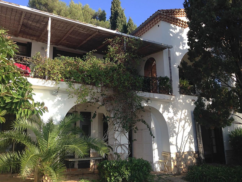 Villa Santo Sospir in Saint-Jean-Cap-Ferrat. Beeld RV