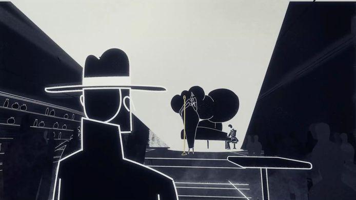 De muziek van 'Genesis Noir' bestaat vooral uit plukjes jazz.
