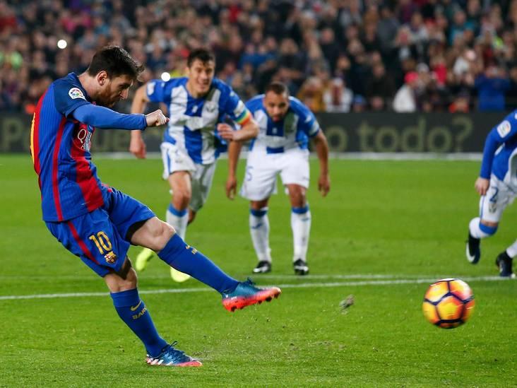 VIDEO: Barça na CL-zeperd met pijn en moeite langs Leganés