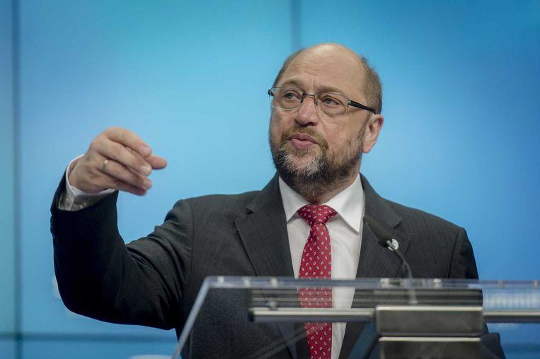 Martin Schulz. Beeld ANP