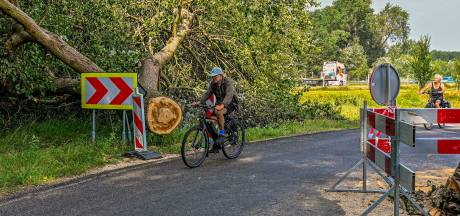 Ravage na windhoos in Bergen op Zoom