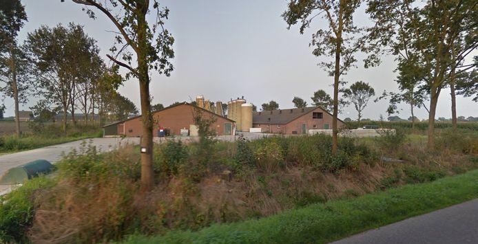 De locatie Waardjesweg 73 in Heusden.