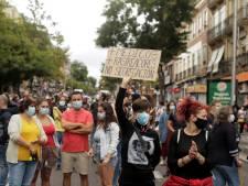 Des milliers de personnes manifestent contre le reconfinement partiel à Madrid