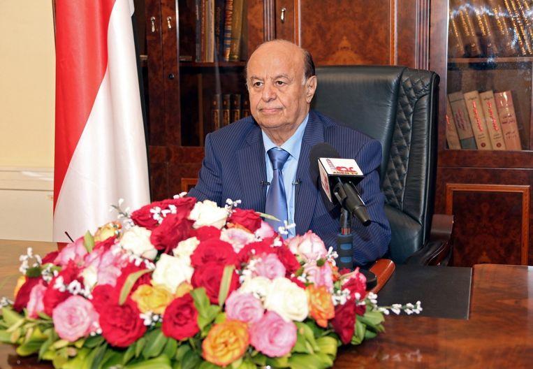 President Abdo Rabbo Mansour Hadi. Beeld epa