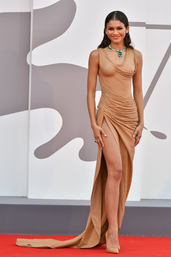 """Zendaya à Venise pour """"Dune""""."""