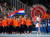 Fontijn draagt vlag Dinamo-stadion binnen: Europese Spelen geopend