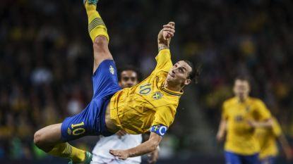 """Ibrahimovic niet echt onder de indruk van omhaal Ronaldo: """"Hij moet dat eens vanop 40 meter proberen"""""""