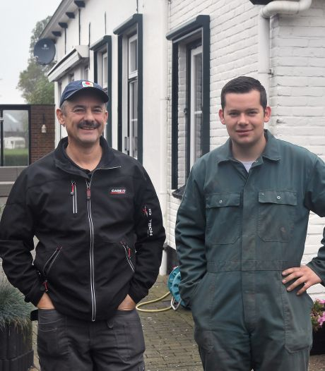 Kees en Lenno Hanse op akkerbouw- en energiebedrijf de Willemshoeve: 'We moeten de wereld kunnen voeden'