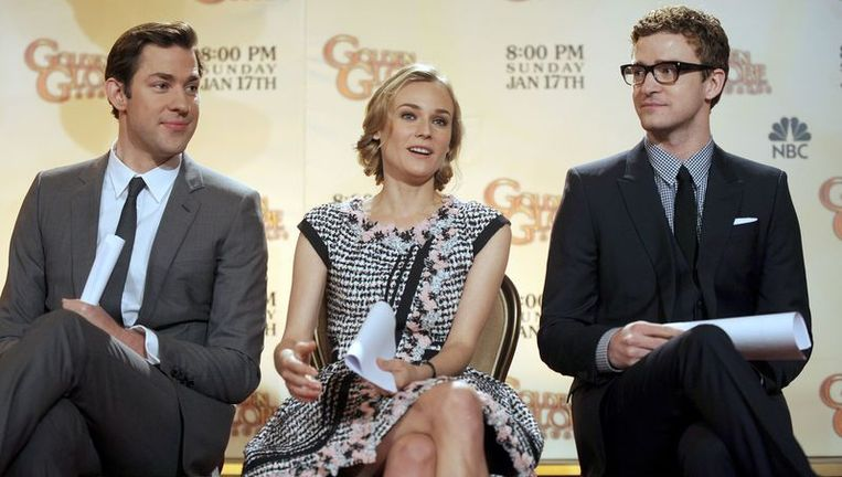 John Krasinski, Diane Kruger en Justin Timberlake maakten de nominaties bekend. Beeld UNKNOWN