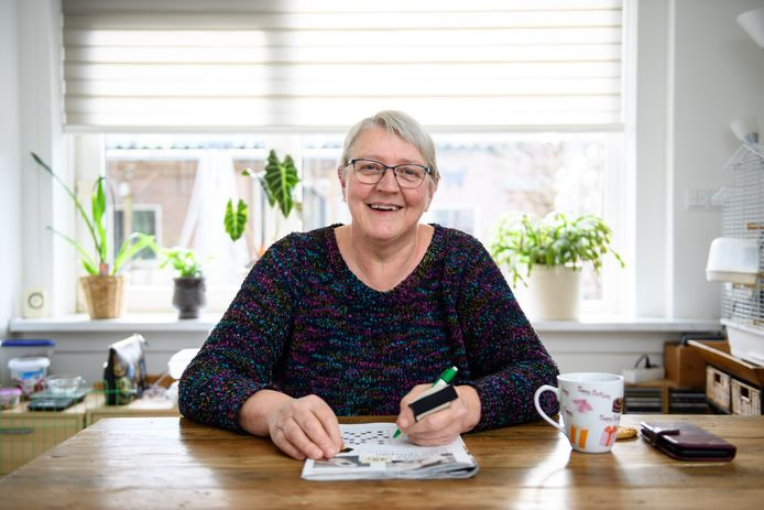Ans Bannink viel in een diep gat na haar scheiding, tien jaar geleden. Dankzij Ziens heeft zij weer plezier in het leven. Zij hield er ook vriendinnen aan over.