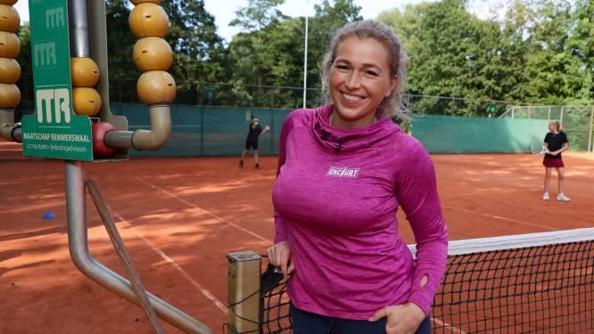 Net bevallen Michaëlla Krajicek alweer terug in het tennis: 'Zwanger zijn is ook topsport'
