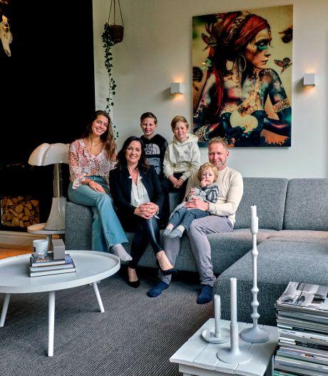 Na negen maanden fulltime klussen werd een kantoorpand het droomhuis van Miranda en Joost
