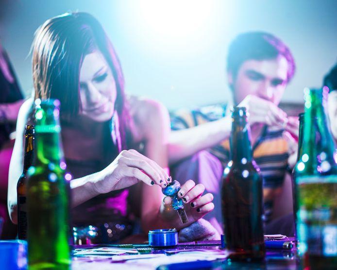 Studenten van de Hogeschool Rotterdam is voor het eerst gevraagd naar drank- en drugsgebruik.