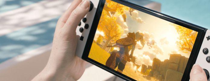 De nieuwe Nintendo Switch.