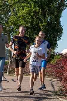 Sponsorloop Casper brengt 550 euro op voor dieren