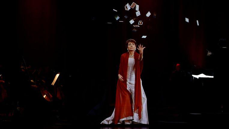 Het hologram van Maria Callas viel tegen, en het orkest al helemaal. Beeld Base Holograms