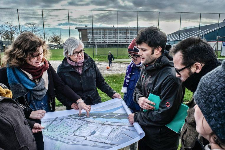 Wijkcomités vragen al jaren meer inspraak in de plannen van het stadsbestuur.  Beeld Tim Dirven