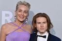 Sharon Stone et son fils Roan Joseph Bronstein
