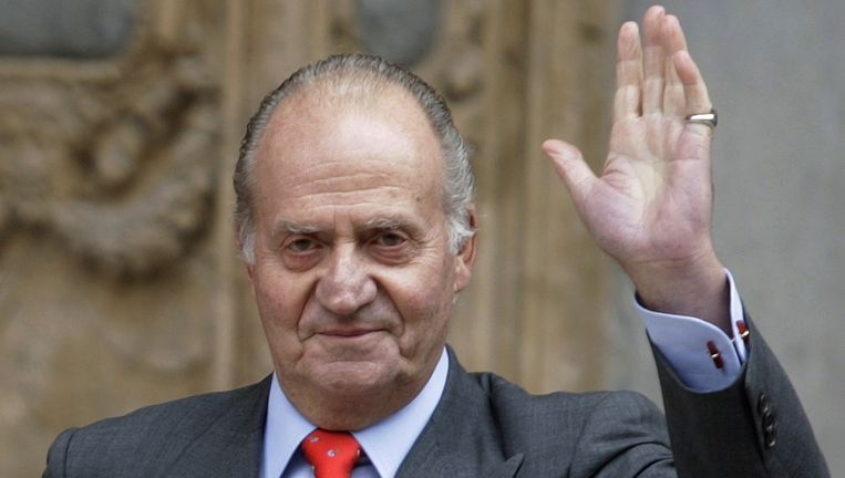 Koning Juan Carlos. Beeld ap
