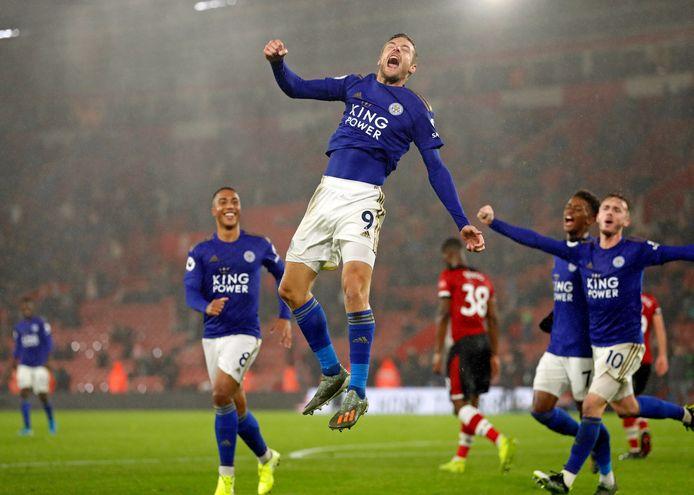 Leicester City won op 25 oktober 2019 met 0-9 bij Southampton, maar The Saints herpakten zich daarna prima.