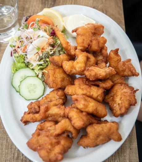 In deze kibbeling van Albert Heijn zit geen flinter vis (wel rijst en mais)