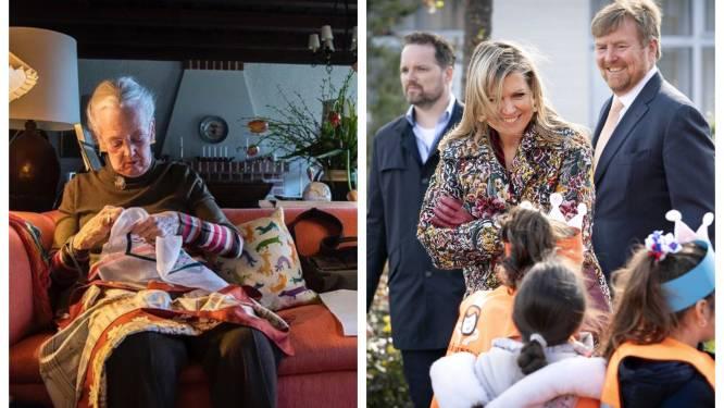 ROYAL BITS. Deense koningin stelt borduurwerk tentoon en de Oranjes openen de Koningsspelen