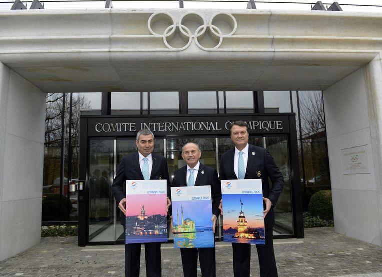 Turkije hoopt de Spelen naar Istanboel te halen Beeld AFP