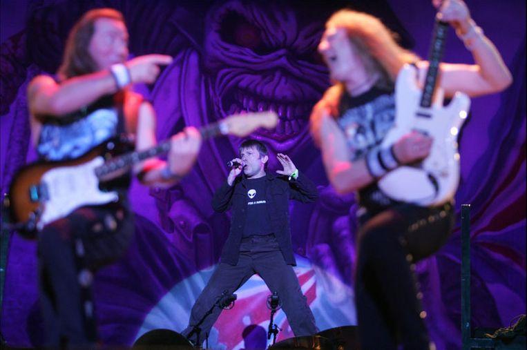 Iron Maiden op Graspop 2007. Beeld PHOTO_NEWS