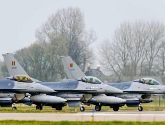 F-16's scheren laag over Nederlandse dierentuin, aan manoeuvres nemen ook Belgische toestellen deel