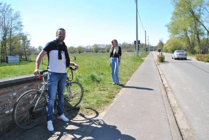 Bart Noëth en Anja Verschaeren kregen allebei een boete op de Zemstsesteenweg. Die eerste vecht de boete aan.