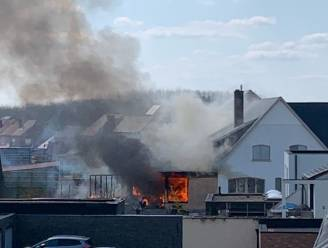 Woning in Wilderen getroffen door uitslaande brand