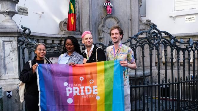 Une tenue 100 % queer pour Manneken-Pis