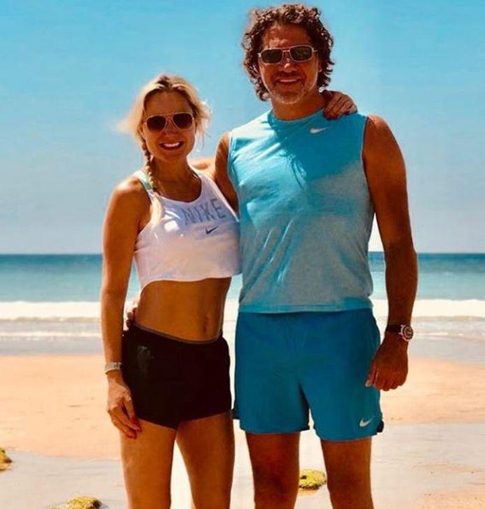 Sonja en haar vriend Barry.