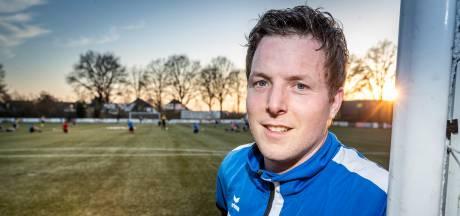 Als voetballer doet Johan van der Pas een stapje terug bij Nijnsel, maar als scheidrechter wil hij juist hogerop