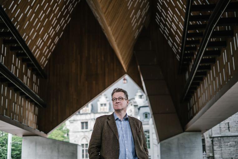De Duits-Nederlandse historicus Philipp Blom: 'Ondanks alles wordt er niet van koers veranderd. Bij de recente Duitse verkiezingen kwam geen enkel van de grote thema's die in de toekomst de politiek zullen bepalen, aan bod.' Beeld ID/ photo agency