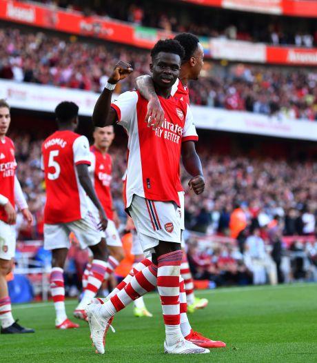 Arsenal deelt in North London Derby tik uit aan Spurs