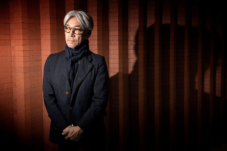 Sakamoto schreef onder meer de soundtrack voor Merry Christmas, Mister Lawrence (1983), waarin hij naast David Bowie acteerde. 'Ik heb zo'n spijt dat ik hem nooit meer tegen het lijf ben gelopen.' Beeld AFP