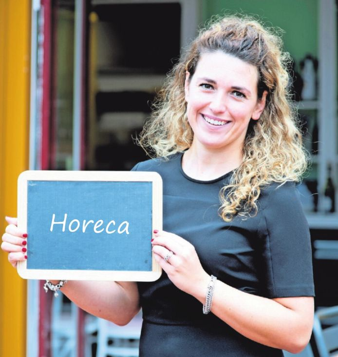 Nicole Valkhof, manager van restaurant Villa Curnonsky in Arnhem.