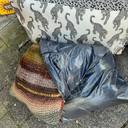 Afval dat Anne-Marie Höppener afgelopen week aantrof.