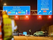 Drie opgepakte mannen verdacht van betrokkenheid bij dodelijke crash op A2 bij Nieuwegein