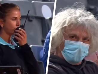"""Umpire voelt zich zwaar geïntimideerd door boze vader van tennisster en vraagt bescherming: """"Kan iemand in mijn buurt blijven?"""""""
