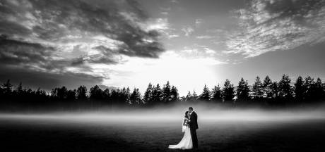 Een donker bos, mist en zonlicht: Juliantien uit Westerhaar maakte hiermee haar winnende kusfoto