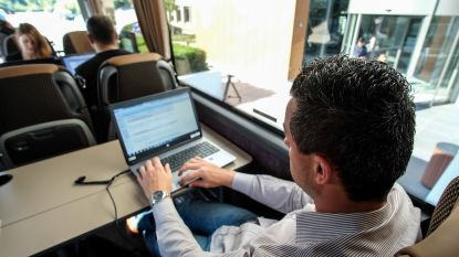 Kantoorbus voor Vlaamse pendelaars flopt