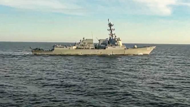 Russen melden incident met Amerikaans oorlogsschip in Japanse Zee