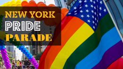 Dit is de beleving rond de Gay Parade in New York