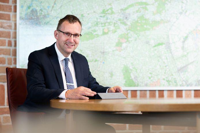 Wethouder Bart Jaspers Faijer van de gemeente Ommen.