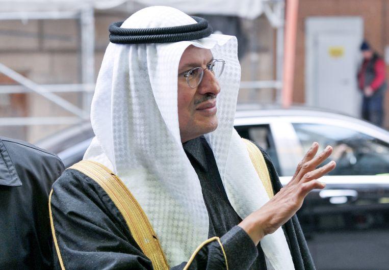 De Saoedische minister van Energie en prins Abdulaziz bin Salman al-Saud. Beeld AFP