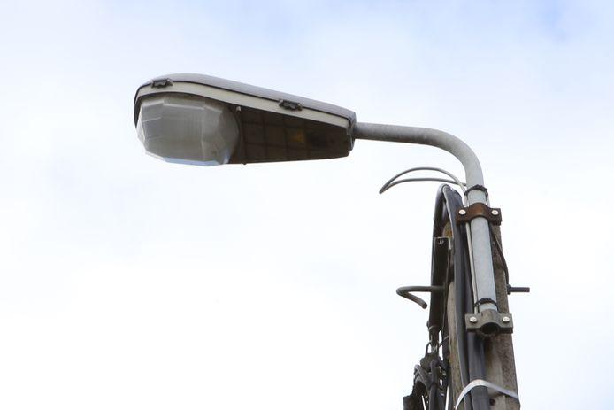 Extra straatverlichting.