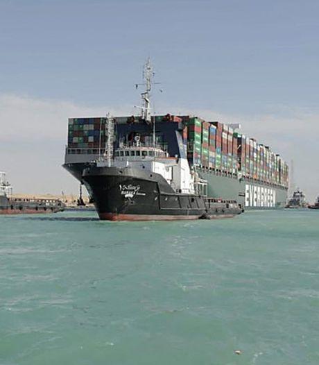 Rotterdamse haven veegt de terreinen leeg voor container-tsunami uit het Suezkanaal
