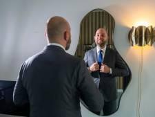 Voor Prinsjesdagdebuut trekt Kamerlid Peter de Groot uit Harderwijk z'n pak uit Italië aan